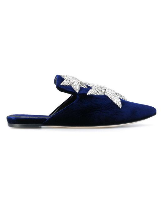 Sanayi 313 | Blue Pointed Star Slippers | Lyst