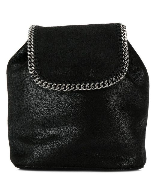 Stella McCartney - Black Falabella Mini Backpack - Lyst