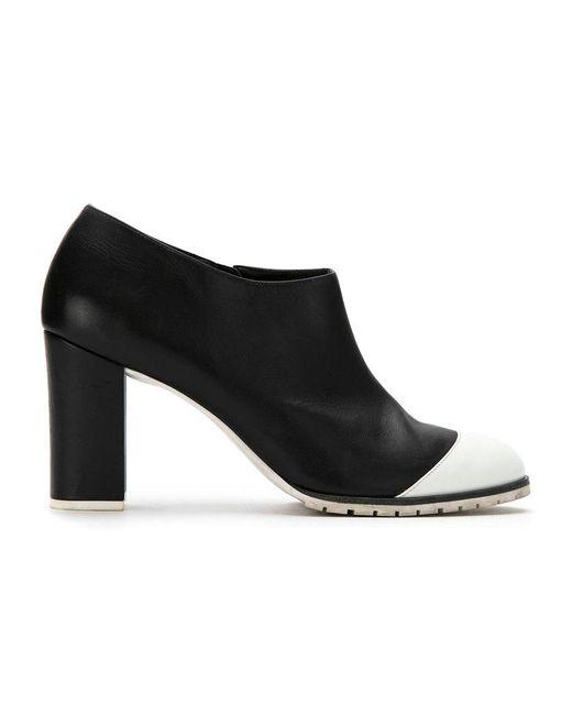 Mara Mac - Black Leather Panelled Boots - Lyst