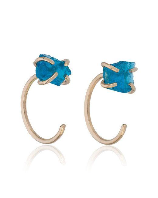 Melissa Joy Manning - Metallic Blue Apatite Earrings - Lyst
