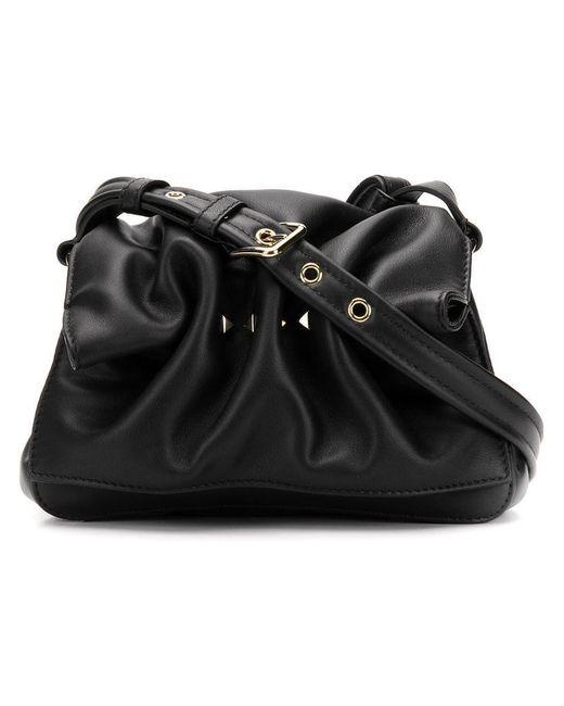 Valentino - Black Bloomy Mini Shoulder Bag - Lyst