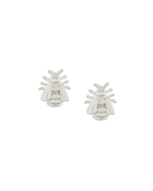 Alex Monroe | Metallic Bee Stud Earrings | Lyst
