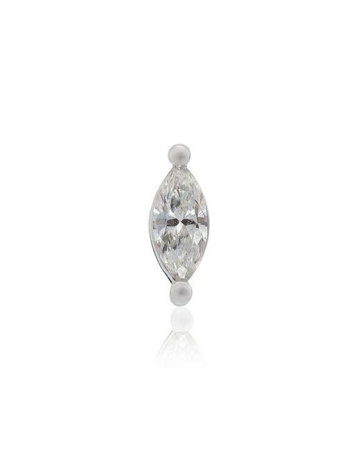 Rosa De La Cruz - Metallic 18k White Gold Diamond Stud Earring - Lyst