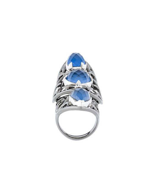 Stephen Webster | Blue Long Finger Ring | Lyst