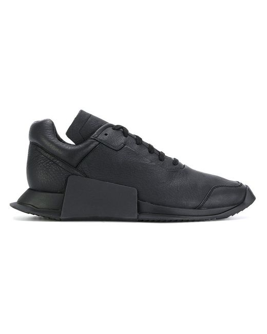 Rick Owens - Black Rick Owens X Adidas Level Runner Sneakers for Men - Lyst