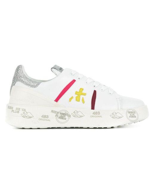 Premiata - White Belle Sneakers - Lyst