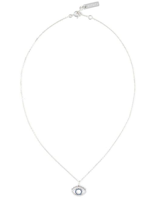 KENZO | Blue Small 'eye' Necklace | Lyst