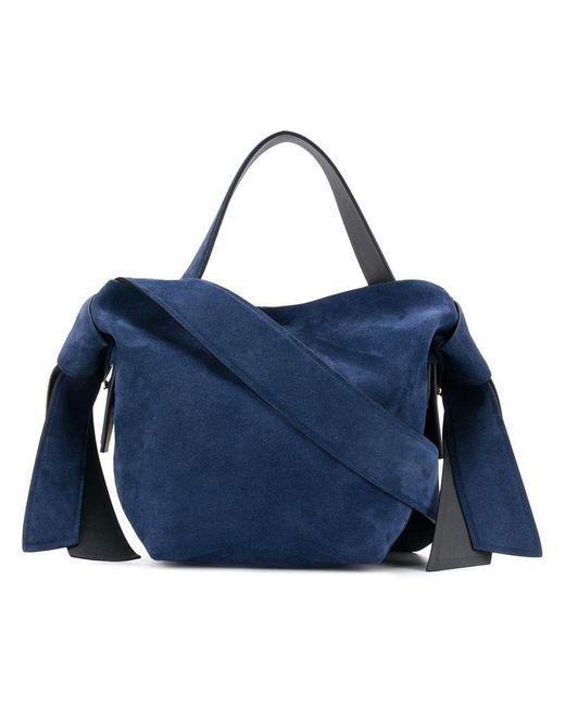 97f8664e8a Mini sac à main Musubi Acne Studios en coloris Bleu - Lyst