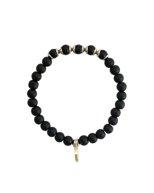 Fefe - Black Stone Bracelet for Men - Lyst