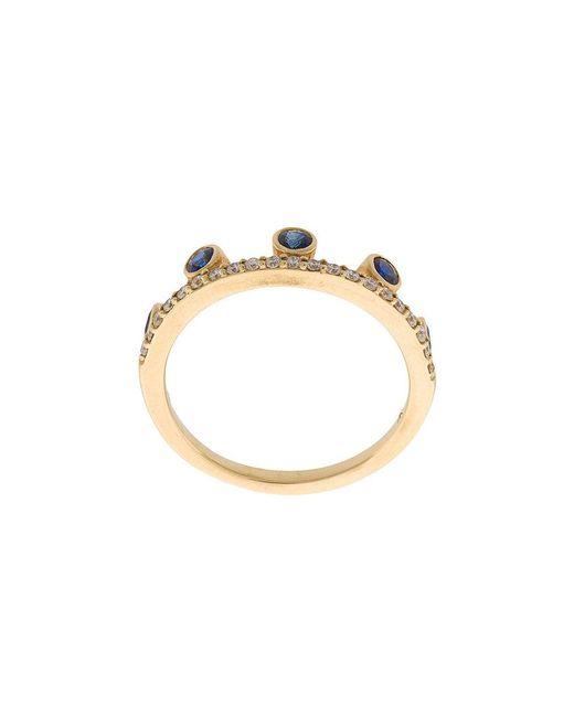Khai Khai - Metallic Crown Ring - Lyst