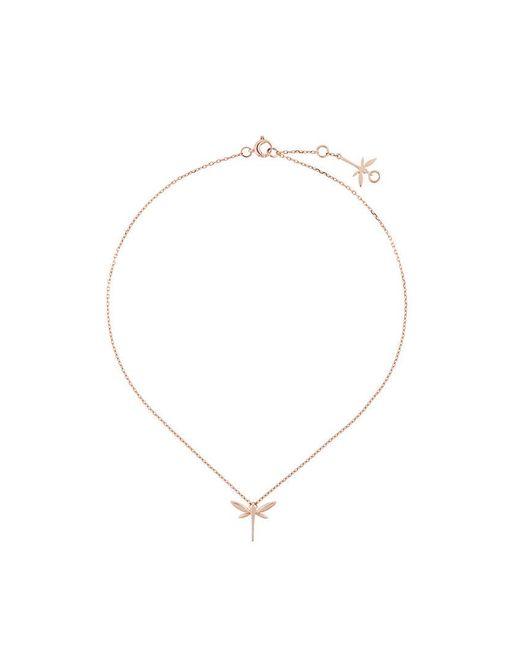 Anapsara - Metallic Mini Dragonfly Necklace - Lyst