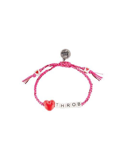 Venessa Arizaga - Pink 'heart Throb' Bracelet - Lyst