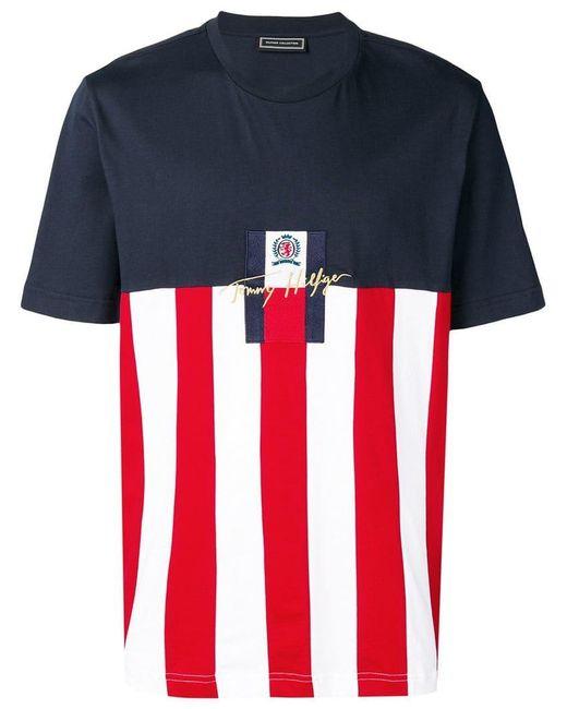 94b60cb2 Tommy Hilfiger T-shirt For Men in Blue for Men - Save 26% - Lyst