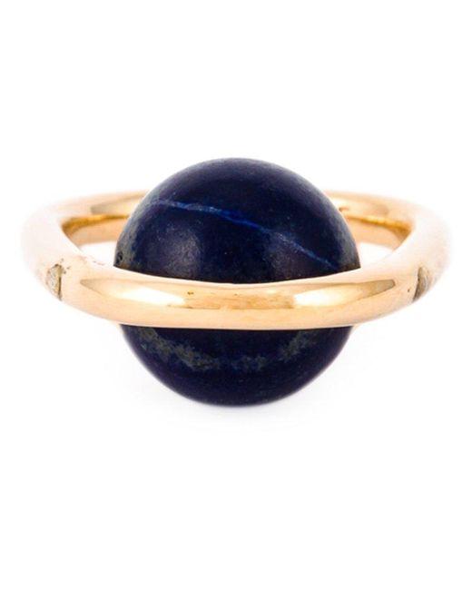 Uribe - Blue 'franz' Ring - Lyst