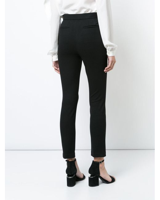 Latest Collections Cheap Price slim-fit tailored trousers - Black Rosetta Getty Outlet Visit New t09Qg9c