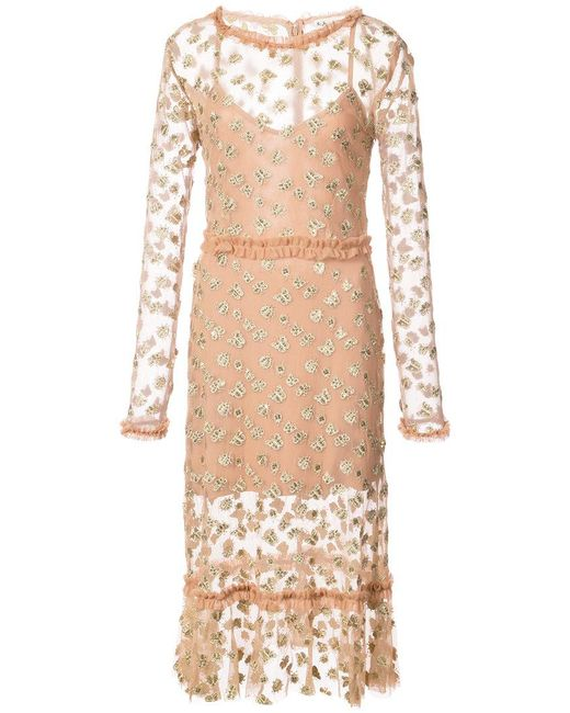 Lyst for love lemons insect and butterfly embroidered