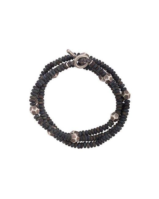 M. Cohen - Blue Armband mit Perlen for Men - Lyst