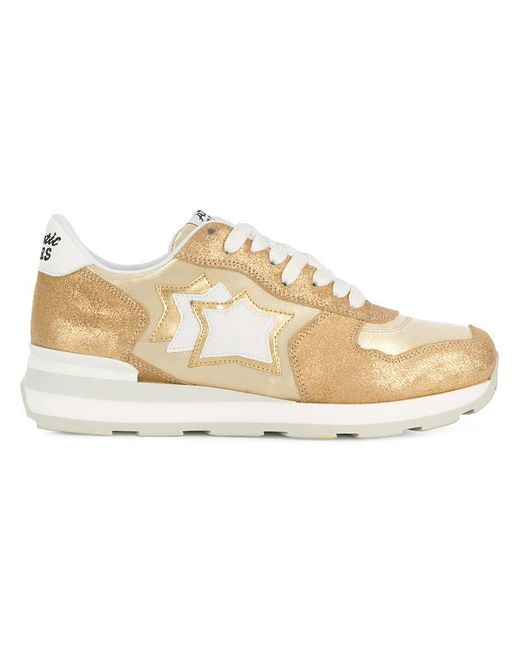 Atlantic Stars - White Star Patch Sneakers - Lyst