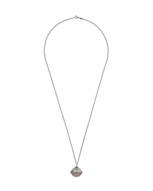Ileana Makri - Metallic Planet Pendant Necklace - Lyst