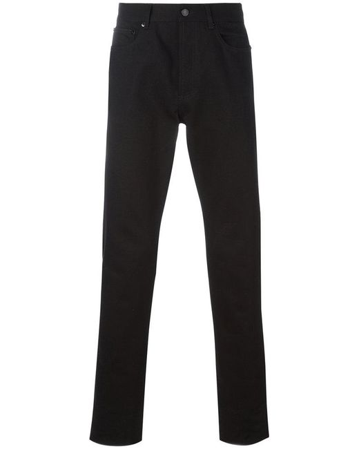 Givenchy | Black Cuban-fit Star Patch Jeans for Men | Lyst