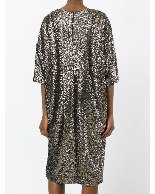 sequin T-shirt dress - Metallic A.F.Vandevorst gBksguxtNE