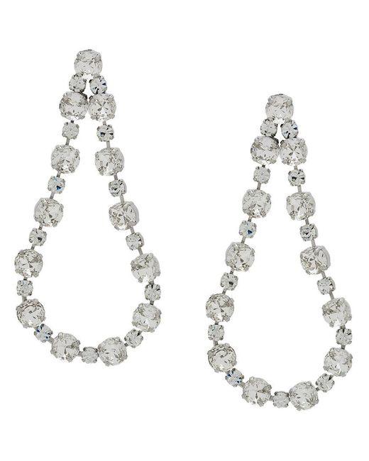 Ca&Lou - Metallic Victoria Embellished Earrings - Lyst