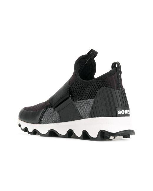 Sorel Chaussures De Sport De Détail De Sangle - Noir iFx61WWk