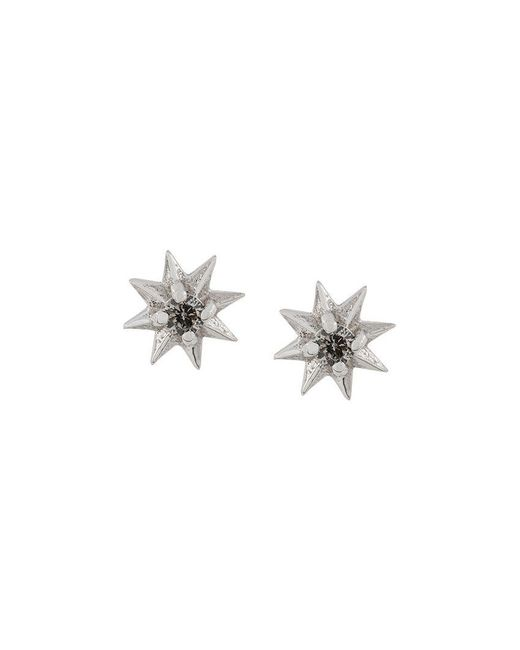 Rachel Jackson - Metallic Diamond Shooting Star Stid Earrings - Lyst