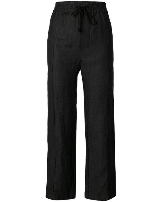 Reality Studio - Black Cropped Trousers - Lyst