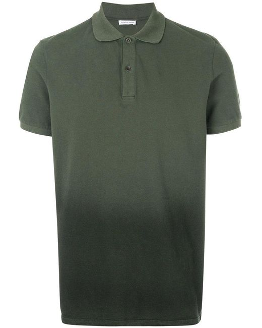 Tomas Maier - Green Ombre piquet polo for Men - Lyst