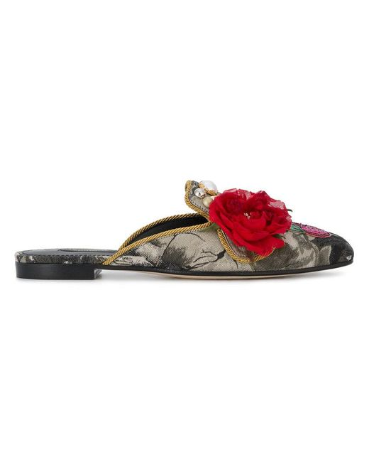 Dolce & Gabbana - Multicolor Jackie Mules - Lyst
