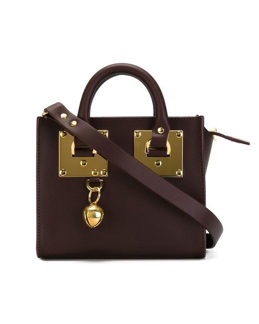 Sophie Hulme - Red 'albion' Tote Bag - Lyst
