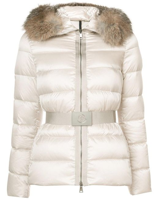 Moncler - Natural Tatie Padded Jacket - Lyst