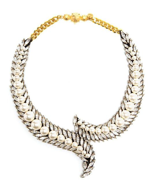Shourouk - Multicolor Piuma Necklace - Lyst