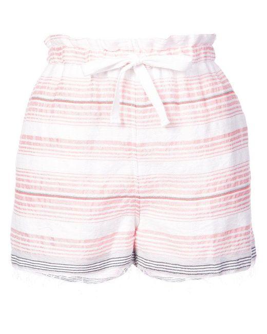 Lemlem - Pink Tereza Drawstring Shorts - Lyst