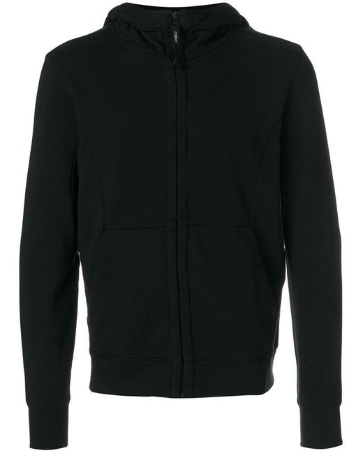 C P Company | Black Shell Sweatshirt Jacket for Men | Lyst
