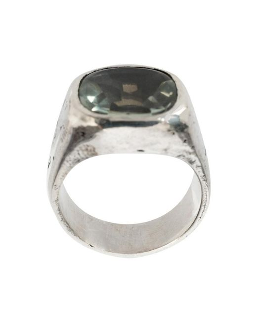 Tobias Wistisen | Metallic Amethyste Ring for Men | Lyst