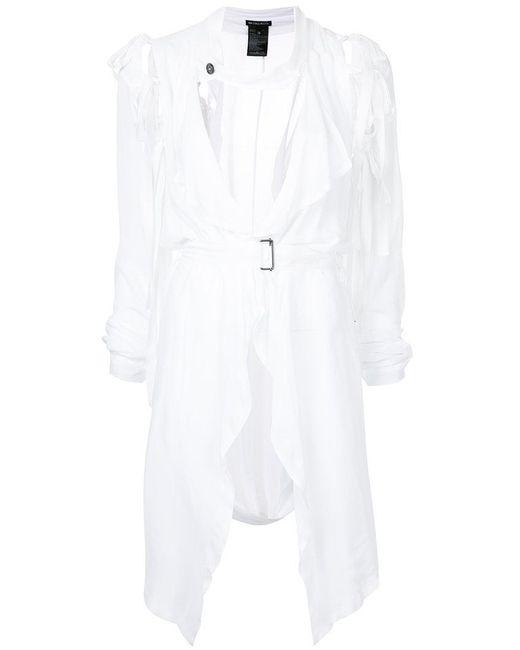 Ann Demeulemeester - White Mclottie Tie Sleeve Dress - Lyst