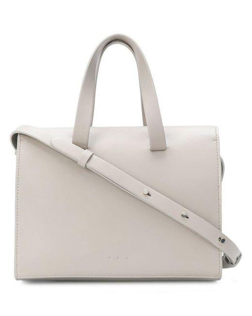 Aesther Ekme - Gray Mini Barrel Shoulder Bag - Lyst