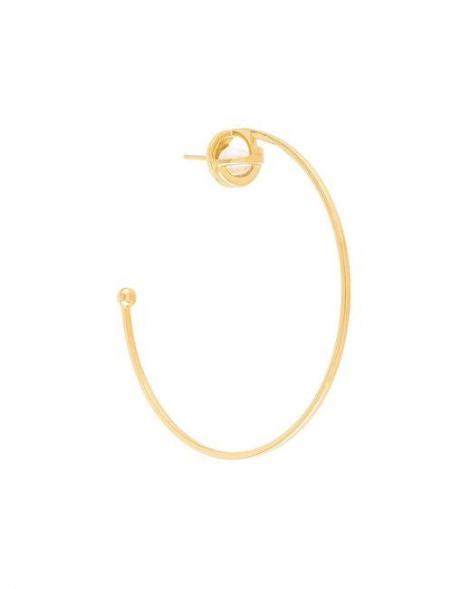 Lara Bohinc | Metallic Planetaria Hoop Earrings | Lyst