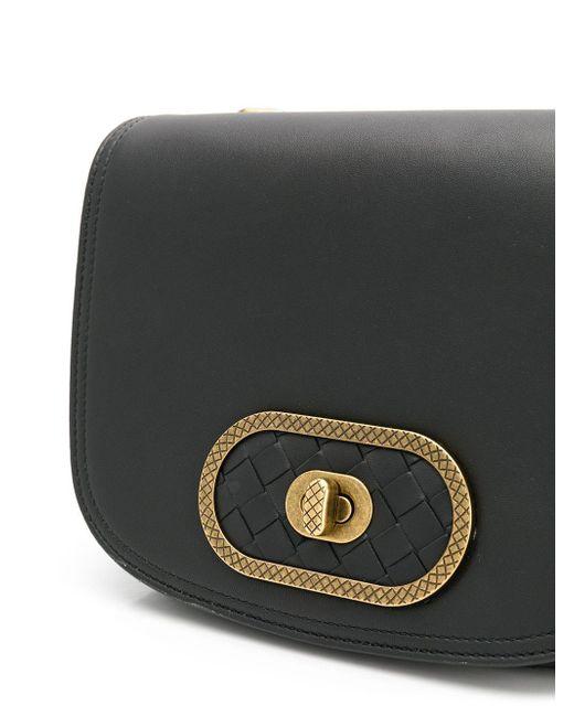 37a61fc42287 ... Bottega Veneta - Black Bv Luna Crossbody Bag - Lyst
