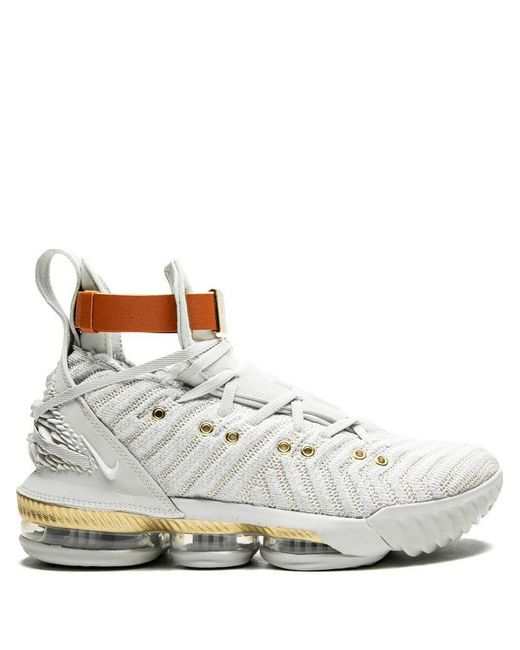 new concept 29191 0aaa2 Women's White Lebron 16 Hfr Sneakers