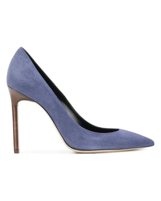 Saint Laurent - Blue Anja 105 Pumps - Lyst