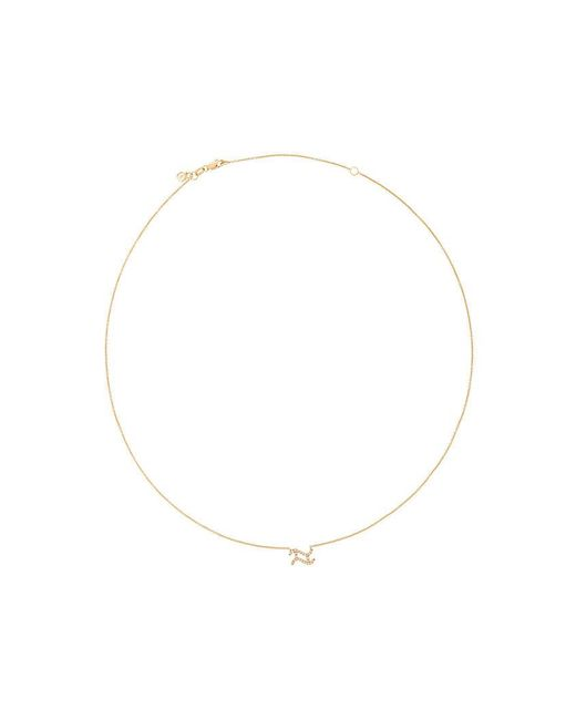 Sydney Evan | Metallic Collana Con Diamanti 'aquarius' | Lyst