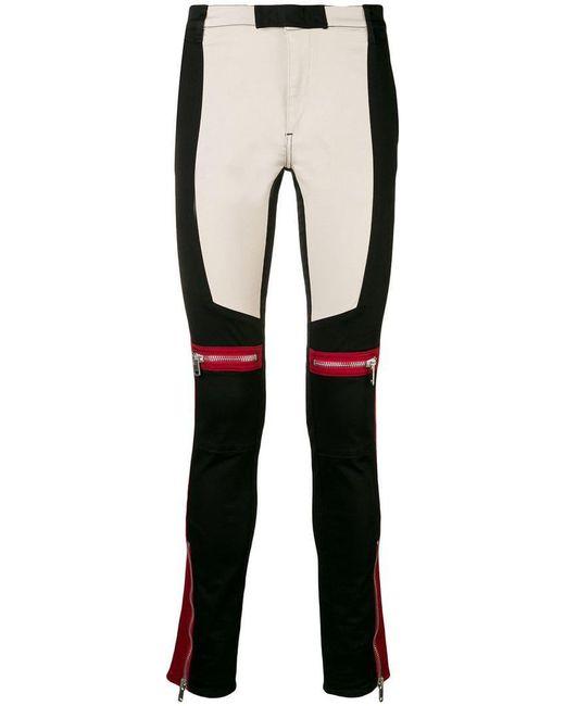 Givenchy - Black Motocross Neoprene Biker Pants for Men - Lyst