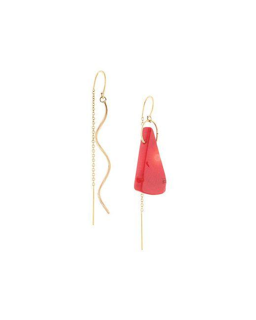 Petite Grand - Metallic Paint Earrings - Lyst