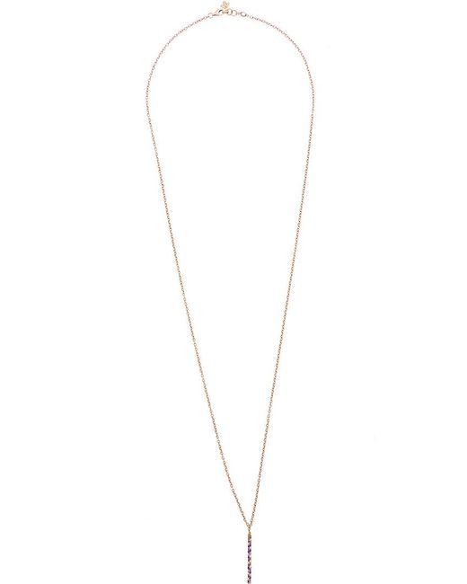 Carolina Bucci | Metallic Studded Magic Wand Necklace | Lyst