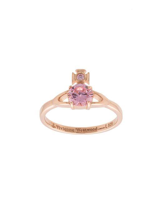 Vivienne Westwood | Pink Reina Petite Ring | Lyst