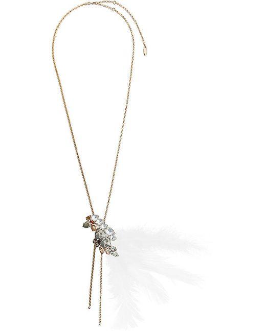Lanvin | Metallic Pendant Necklace | Lyst