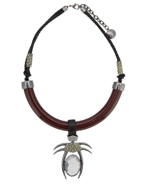 Camila Klein - Metallic Resin Details Necklace - Lyst